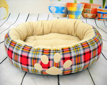 Supply warm hot selling small dog bed