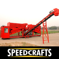 High Efficient Container Type Concrete Plant for Sale at Low Cost