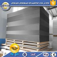high density printing pvc rigid foam sheet black