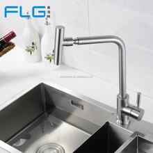 304 Material de acero inoxidable de la cocina lavabo lavabo grifos grifo