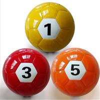 Foot ball 2015 new design football billiard wholesale