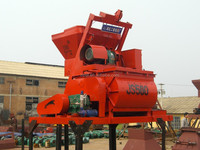 modifiable design Shaft forced type electric JS500 electric concrete mixer