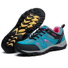 fashion outdoor women hiking shoes sneakers have sample for female, good quality outdoor shoes climbing boots for women