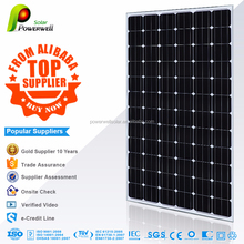 Powerwell Solar 200W Mono Super Quality And Competitive Price With CE,CEC,IEC,TUV,ISO,INMETRO Approval Standard Panel Solar