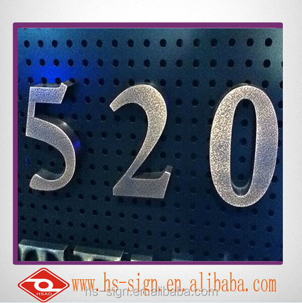 Decorative metal word 3d standing metal letters sign buy for Where can i buy metal letters