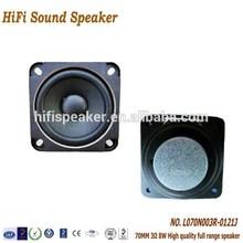 70MM 3ohm 8W Full Range Speaker