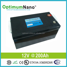 Deep Cycle LiFePO4 12V 200Ah Solar Battery in Hight Quality