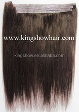 Easy to attach!!!PU weft hair Extensions for Daily Make up