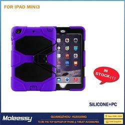 High Quality Fashion protector pu leather case for ipad mini