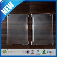 C&T Newest simple design transparent hard back case for apple ipad pro