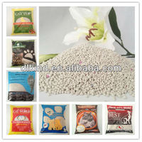 Sample free odor control, hard clumping pet cat toilets with fragrance