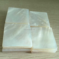 3mm thick mother of pearl shell blanks/chips