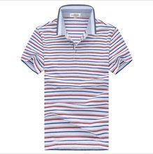 stripe Color Famous Brand Polyester Cool Polo T Shirts Wholesale