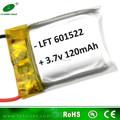 小さな6015223.7v120mahの高レートliポリマーリチウム電池のためのミニty901rcヘリコプター