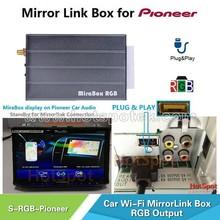 RGB Mirror link Box GPS Navigation Box for Car DVD For Pioneer
