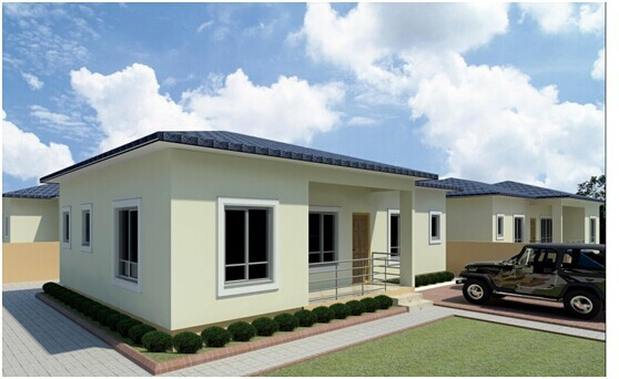 Modern design prefabricated house kits for india malaysia for Small house design thailand