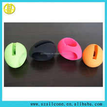 horn shape silicon case for i6/6s Hot sale colorful silicon horn speaker mini bluetooth speaker in cheap price