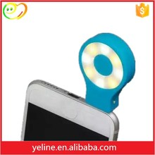 New Selfie helper!Brightness control flash led Selfie light for mobile phone