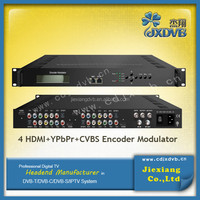 SDI/VGA/Ypbpr/CVBS/HD To DVB-C Modulator