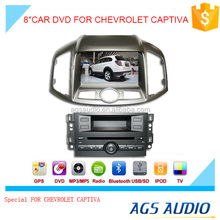 8 inch car dvd GPS navigation system for CHEVROLET CAPTIVA with radio bluetooth ipod ,baekup camera