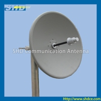 2400-2500MHz Dual-pol Dish Parabolic WLAN WiFi Antenna with 21dBi