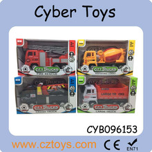 2015 new tractor trailer trucks friction toy truck toy camouflage truck for sale with EN71 test