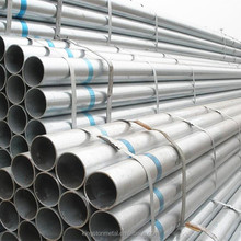 BS1387 60mm hot dip galvanized mild steel pipe black pipe prime quality