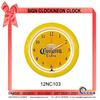 12NC103 Elegant LED Clock Wall Neon clock