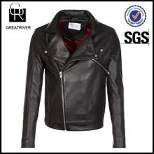 2015 Men Apparel Fashion Clothing Biker Leather Jacket