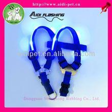 HOT LED dog harness,customize led electronic pet harness