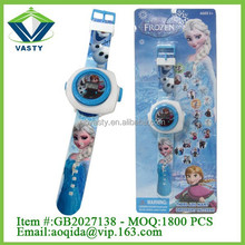 Electric toys for kid educational frozen projection toys electronic children watch