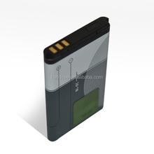 1020mAh Original battery for Nokia 6108/6230/2300/3100 3.7v battery BL-5C mobile phone battery