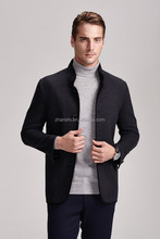 men's winter boiled wool coat