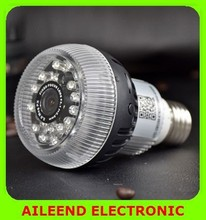 E27 full HD 1080P Led bulb Hidden Wifi Camera ,NIght vision wifi Lamp Camera