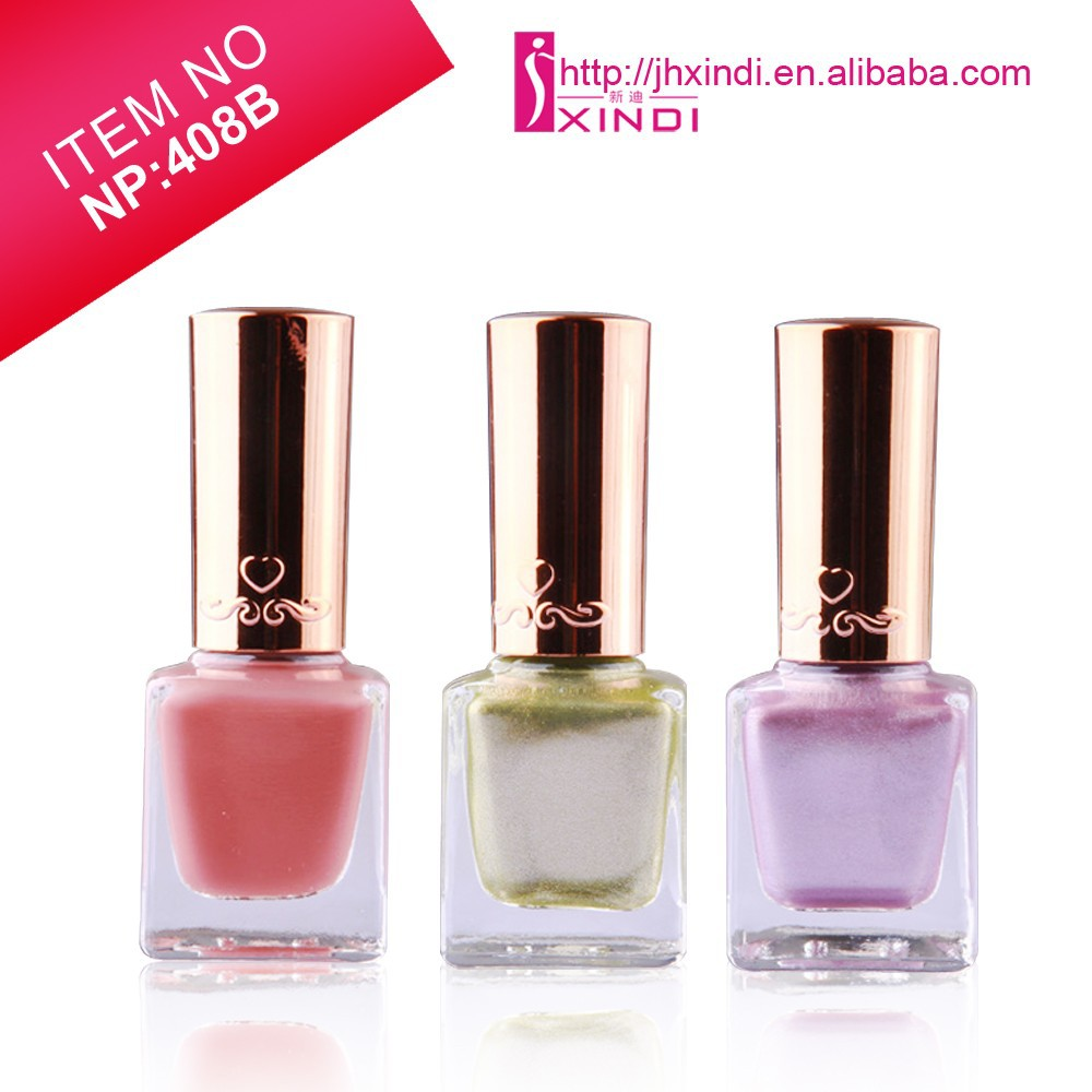 2015 new design metallic color nail polish buy metallic color nail