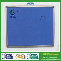 New design Memo Board Colored Cork Board Tiles Blue Black Cork Board