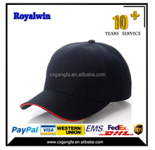 6 panls cheap fashional baseball cap, wholesale custom baseball cap hats