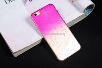 2015 New design Raindrops Gradient Hard Back Cover Skin colorful raindrop case for iphone 5 5s china suppliers