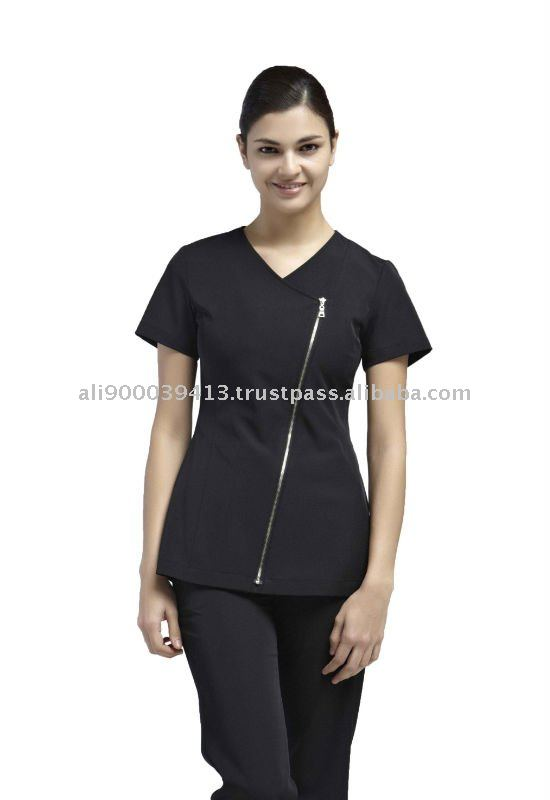 Uniforme para spa y salones de belleza yaejw0022 ropa for Spa uniform indonesia