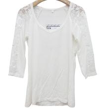 fancy blouse long sleeve sequin lace crop top