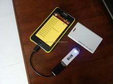 Em4100 portable proximité ID lecteur clavier émulation pour PC / PDA 125 khz RFID mini usb lecteur