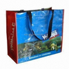Recyclable custom alibaba china cheap price pp laminated non-woven fabric carry bag