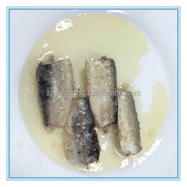 125กรัมส่งออกปลาซาร์ดีนกระป๋องในน้ำมันพืช( znsvo0003)