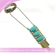 Bohemian Turquoise And Brass Demimonde Jewelry