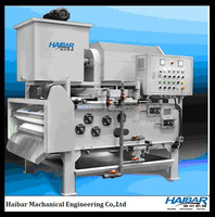 Small mineral water plant machine for sludge dewatering
