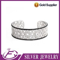 Alibaba 5 star feed back 925 sterling silver wholesale expandable bangle