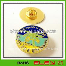 2014 de metal insignia de la fabricación