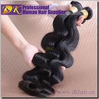DK Raw Unprocessed Virgin Peruvian Hair Bundles,100% Peruvian Human Hair,7A 100% Peruvian Virgin Hair Wholesale