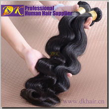 DK Raw Unprocessed Virgin Peruvian Hair Bundles,100% Peruvian Human Hair,7A 100% Peruvian Virgin Hair Wholesale