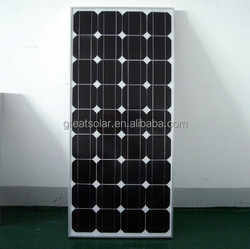 150w mono solar panel with good price manufacture in China
